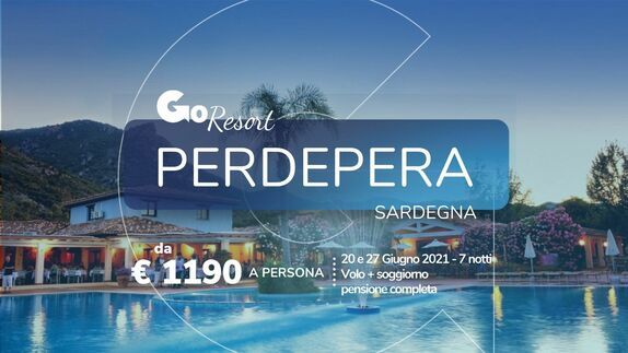 GoResort Perdepera by Going Giugno 2021